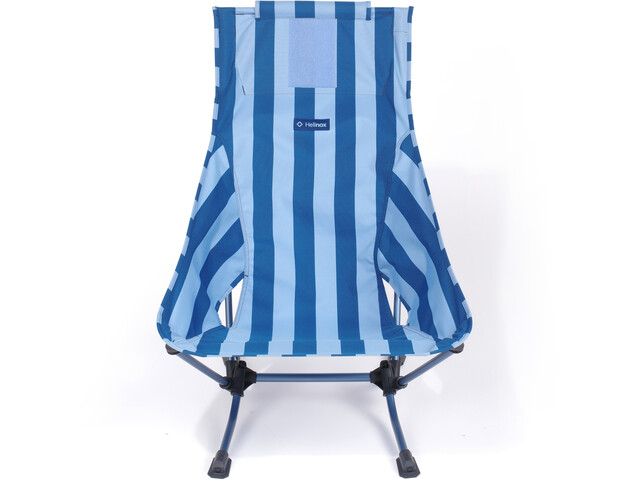 Helinox Beach Chair, blue stripe/navy